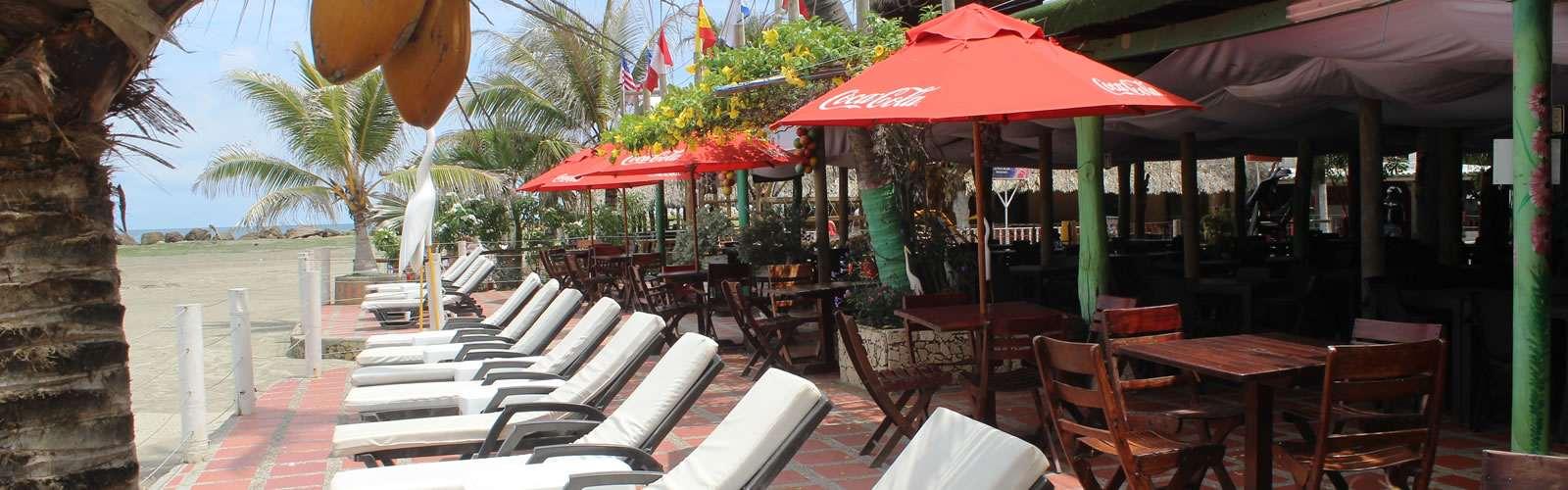 Restaurante a la orilla del mar cartagena
